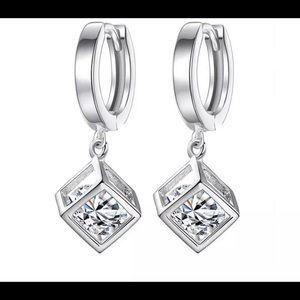925 Sterling Silver Drop Earring